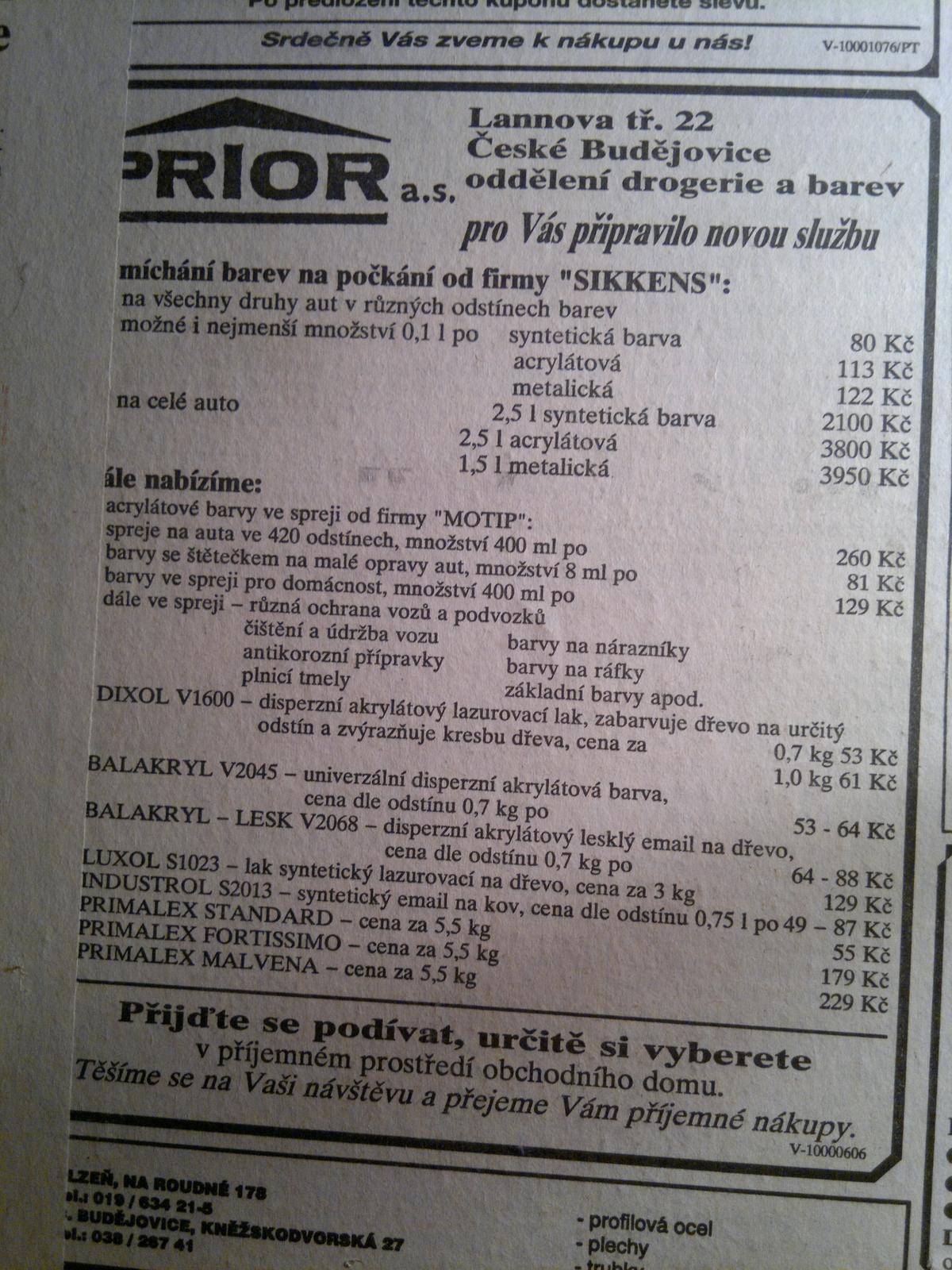 To je ON :-) - Ceny z roku 1994