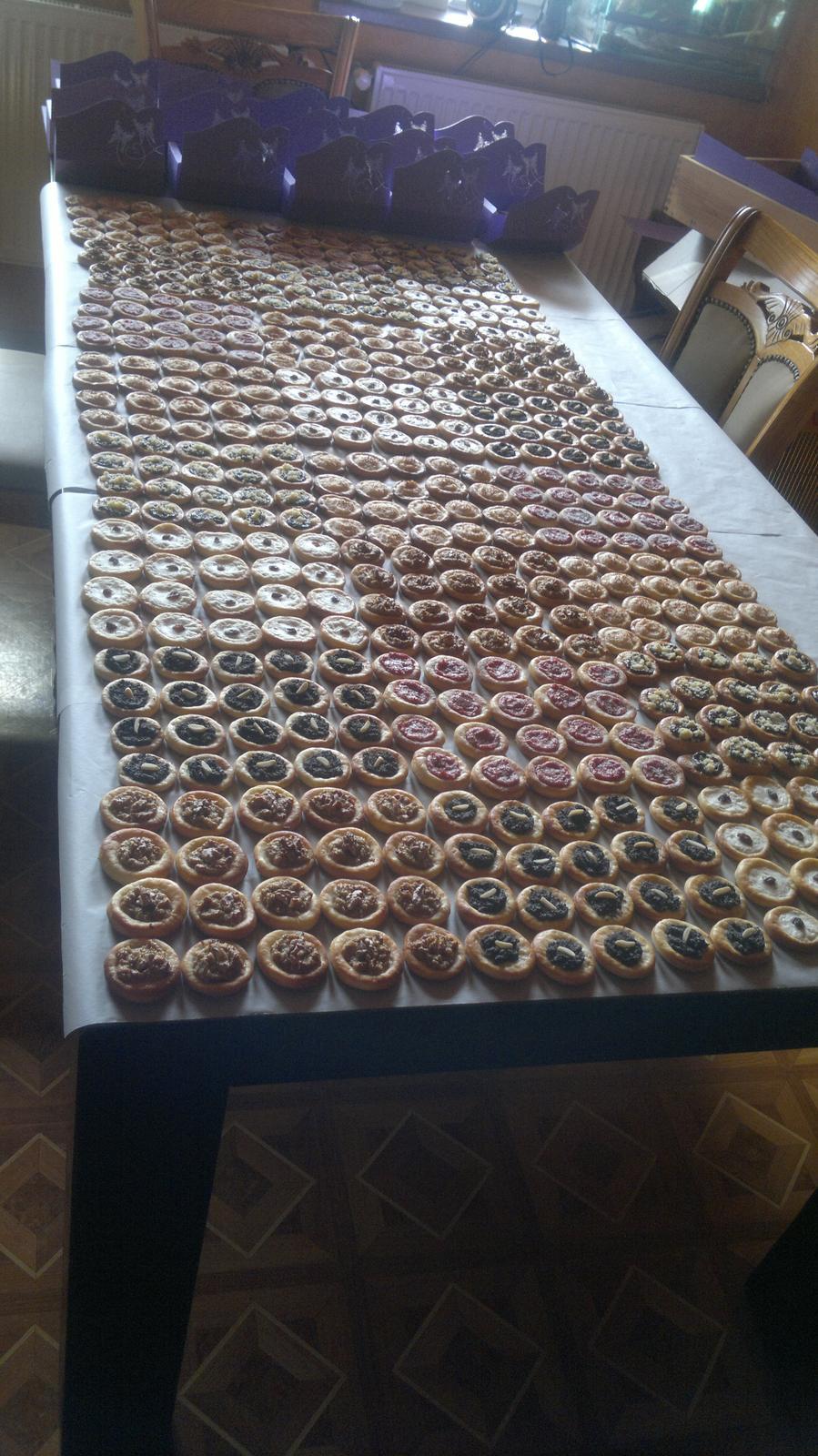 Anna{{_AND_}}Michal - svatební koláčky v 5ti příchutích od mojí úžasné švagrové :-)