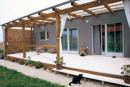 Náš domček - takúto verandu by som časom veeeeľmi chcela