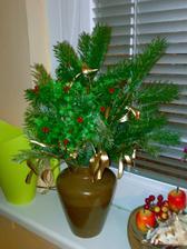 trochu vánoční výzdoby