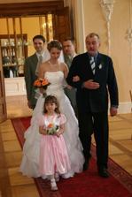 bratři svědci,neteř Eliška,tatnínek nevěsty