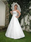 svadobné šaty veľkosť č. 8, 39