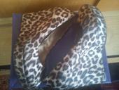 Dámske topánky s leopardím vzorom, 40