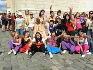 společné foto s holkama ze zumby