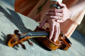 Moje vysněná prstýnková na houslích Radka Havláta :-) (od Kamila Jursy)