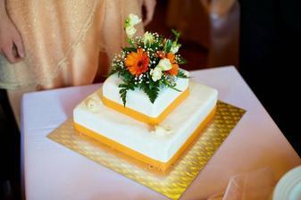Svatební dort (od Kamila Jursy)
