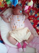 Naše druhá holčička Barborka. Narodila se skoro o měsíc dřív a neplánovaně doma za přítomnosti záchranky :-)