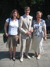 Náš svatební fotograf čerstvě ženatý :-)