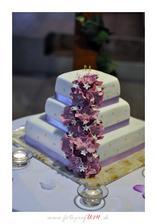 Naša svadobná torta.