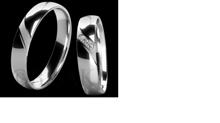 Co máme a co se mi líbí, hnědo-bílá svatba... - to jsou naše prstýnky
