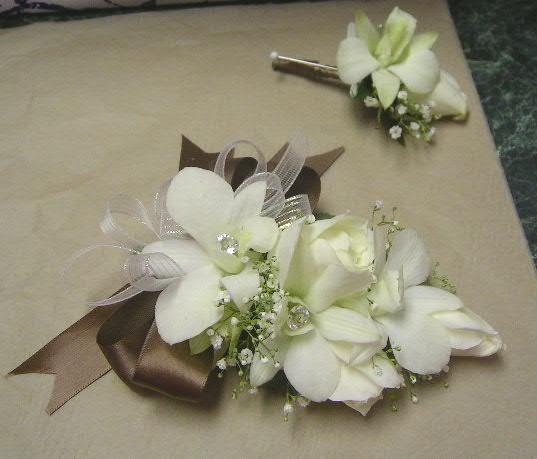 Co máme a co se mi líbí, hnědo-bílá svatba... - Obrázek č. 39