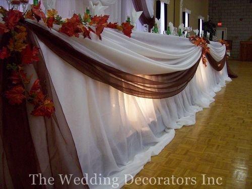 Co máme a co se mi líbí, hnědo-bílá svatba... - na rautové stoly