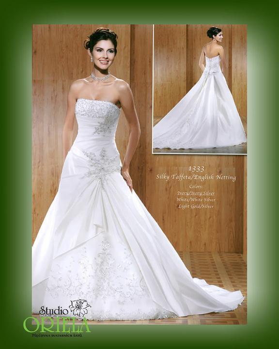 Co máme a co se mi líbí, hnědo-bílá svatba... - Obrázek č. 85