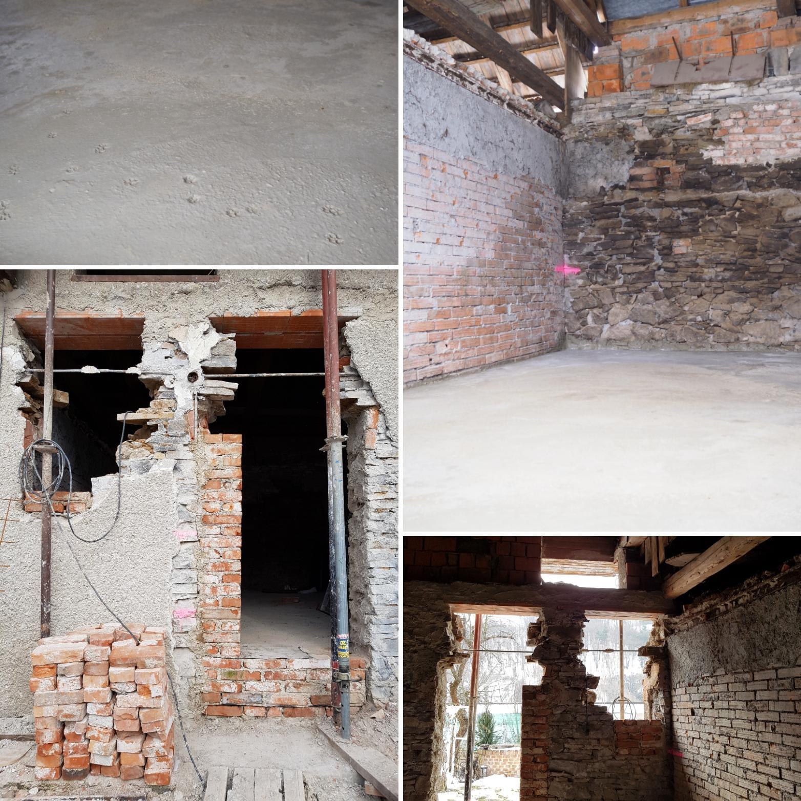 Rekonštrukcia 100ročného domu - aktuálny stav k 19/3/2018 http://www.prairie-charm.com/2018/03/reconstruction-mode-mod-zapnuty-na.html