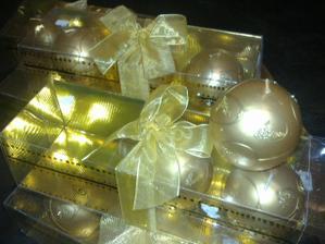 Sviecky na svadobne stoly :-)