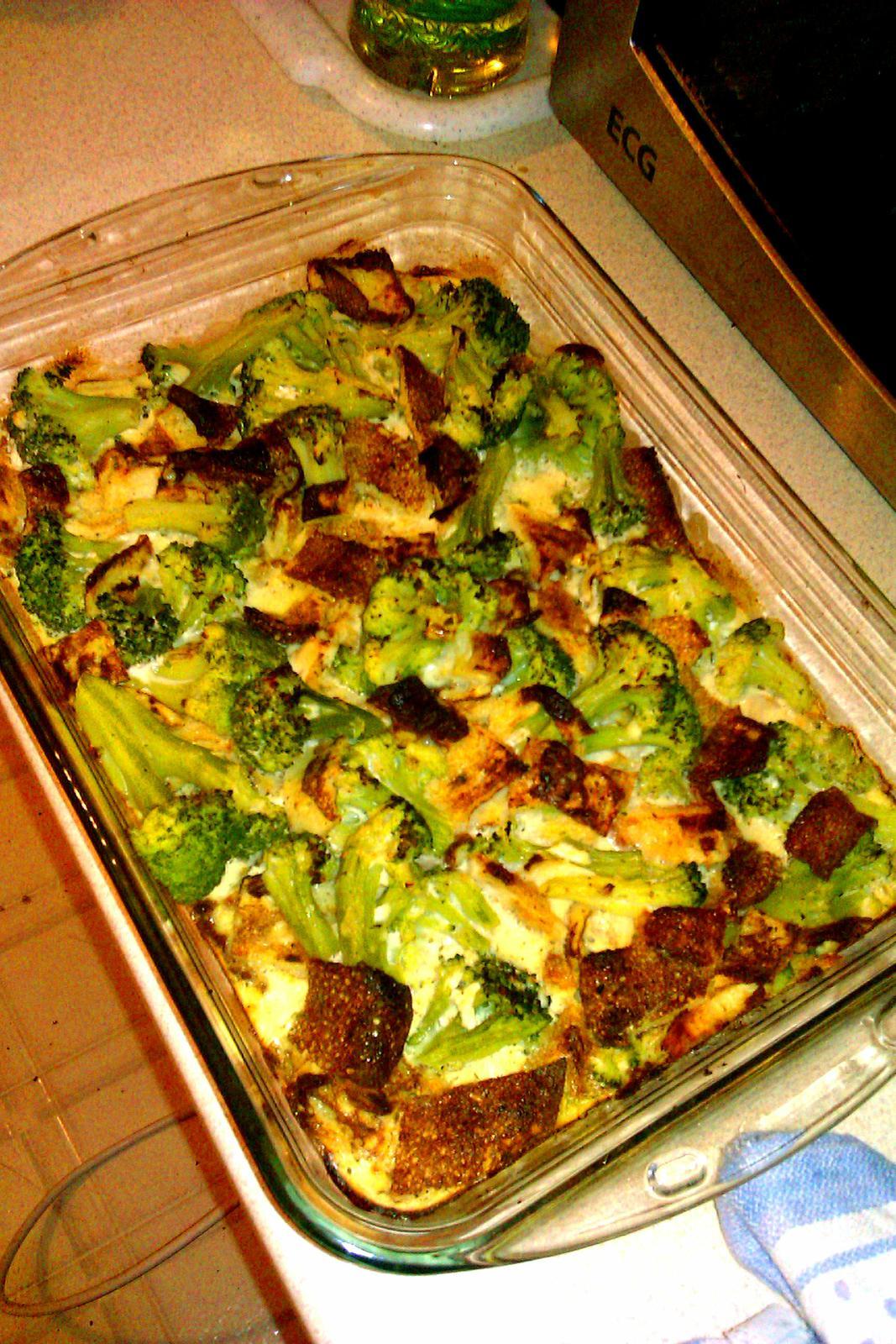 zapekana brokolica BZ den,... - Obrázok č. 1