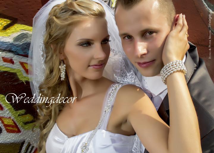 Naše spokojné zákazníčky a naše výrobky :) - Nevesta Zuzka - perličkové náušnice, farba biela
