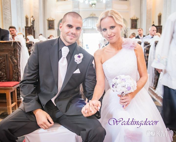 Naše spokojné zákazníčky a naše výrobky :) - Nevesta Andrea - vintage svadobná kytica, pierko pre ženícha