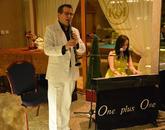 Swingová hudba - One Plus One - hotel Kaskády