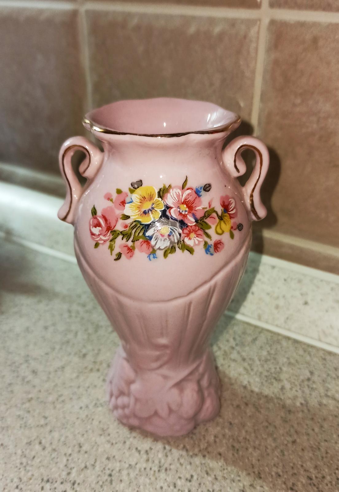 ružová vázička - Obrázok č. 1