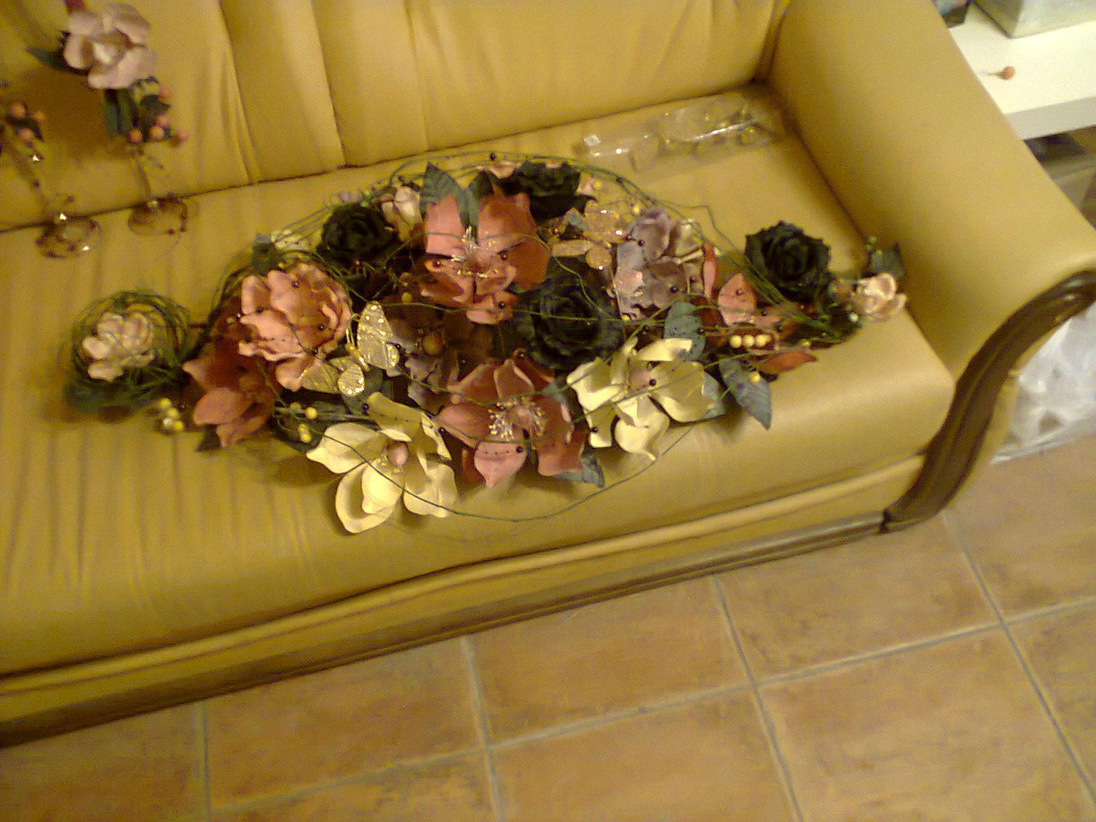 Kytica na stôl - ikebana - Obrázok č. 1