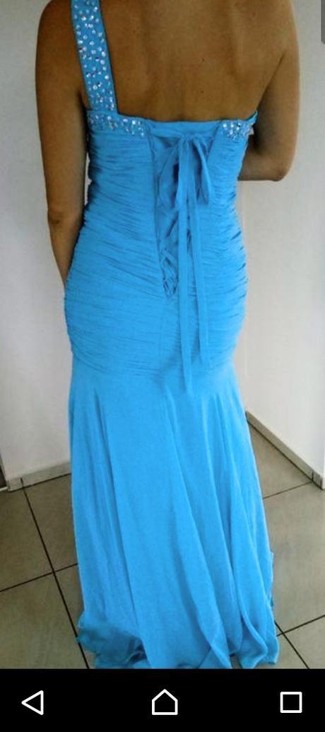 Dlhé šaty 36/38 aj na chladnejšie počasie, korzet - Obrázok č. 2