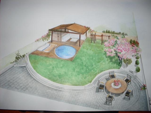 Z bytu do domu - Vizualizácia záhrady - šikovné ručičky :-)