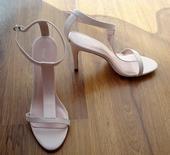 Jemne ružové sandále Next, 41