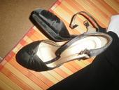 čierne sandále, 38