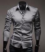 Štýlová slim košeľa, XXL