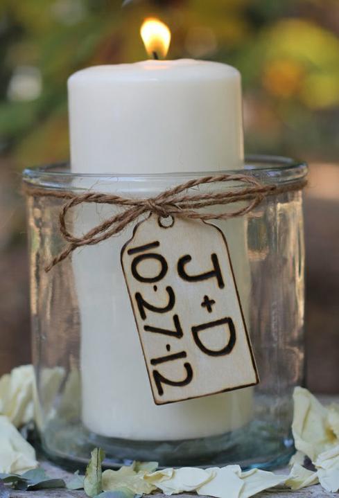 Selská svatba + Má tvorba - netradičně budeme zapalovat svíčky... :) moc hezká zahraniční tradice..