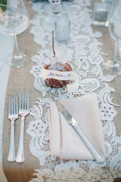 Selská svatba + Má tvorba - jednoduché prostírání...