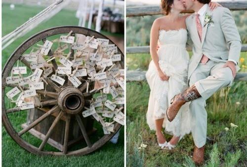 Selská svatba + Má tvorba - a tohle je na vzkazy perfektní!! A navíc... máme několik kol doma!! Jupíí..