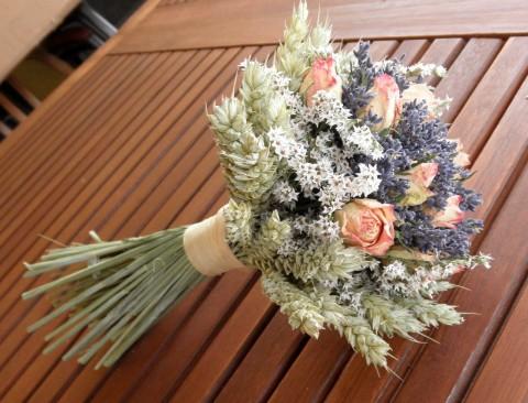 Selská svatba + Má tvorba - tohle bude moje svatební kytice. :)