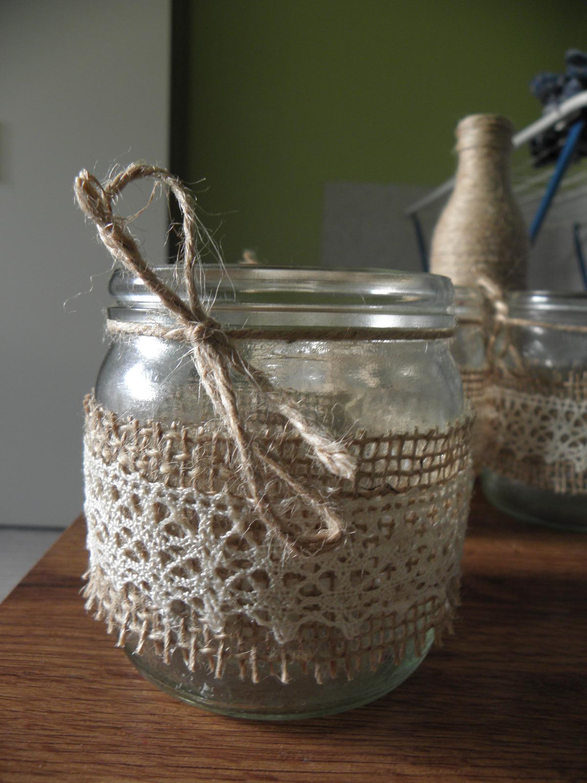 Selská svatba + Má tvorba - 1. vlaštovička - svícínek na stůl