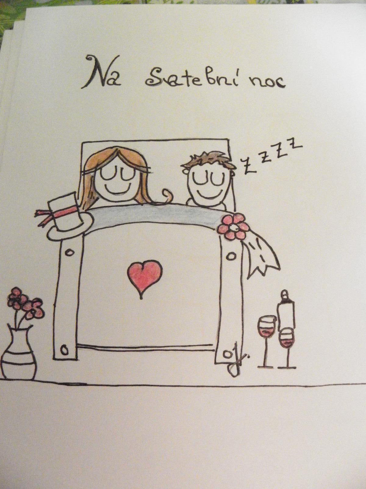 Selská svatba + Má tvorba - IV. Obrázky kresleny podle obrázku na googlu..