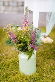 Váza světle zelená,