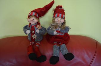 dvaja vianocny kamarati