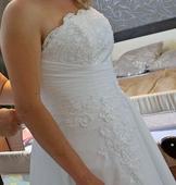 svadobné šaty č.36-42, 36