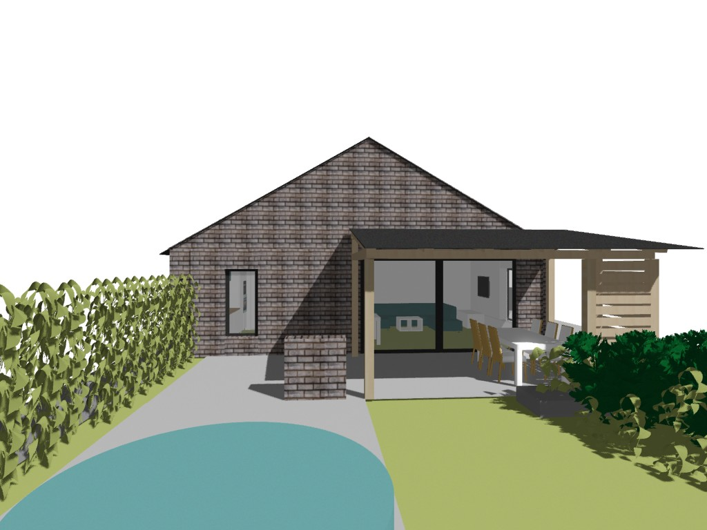 Tvorime domov - navrh fasady