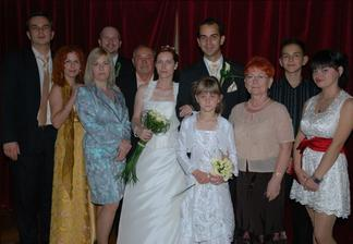 Moja rodina, rodicia, sestry, svagrovia, netere Nikolka, Laurika a synovec Kristian