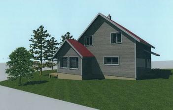 Tento 3D model je sice novy (z decembra 2011), ale akosi nam tu poplietli farby. Okna a dvere maju byt z vonku antracitove, odtien domu a strechy tiez kapanek odlisny...