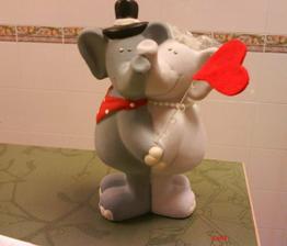 sloníci na dort