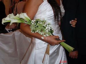svatební květina