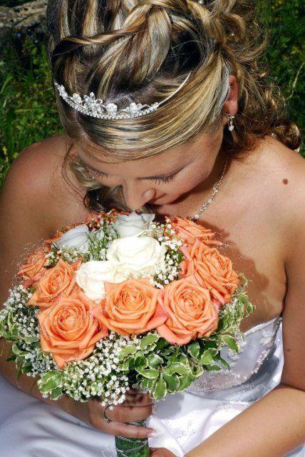 Moje prípravy - Alebo bielo oranzova kytica