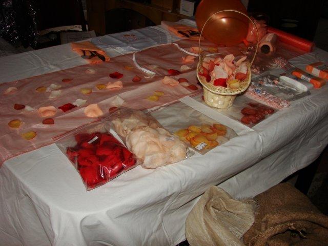 Napady na dekoraciu - ... na svadobno veltrhu...
