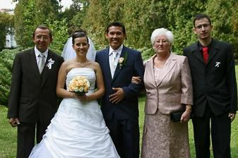 s rodicmi a bratom