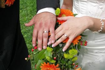 Naše nádherné prstýnky.