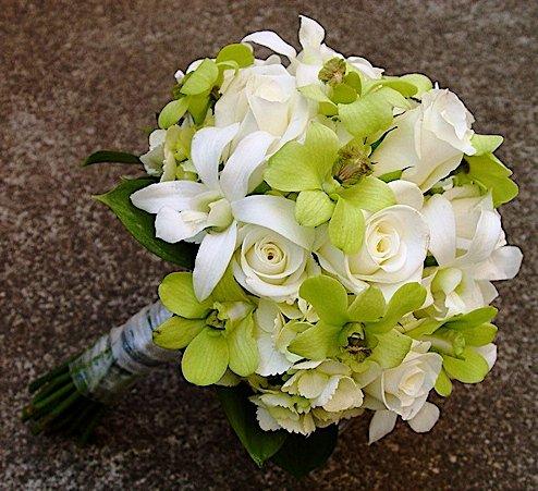 Voňavý sen alebo tá pravá kytica pre mňa :-) - Orchidea je praktická, dlhoooo vydrží :-)