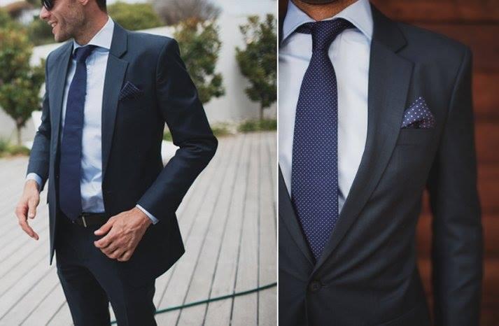 Farba a strih, len košeľa by bola biela a kravata zelená...mohlo by to byť?